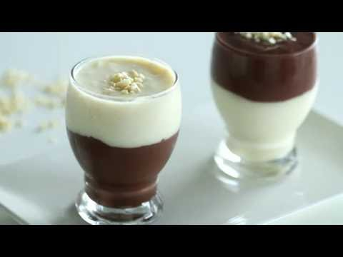 Vanilla and Chocolate Pudding Recipe