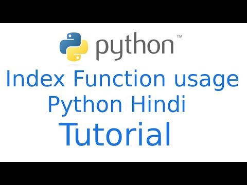 Indexing in python   Python Tutorial in Hindi