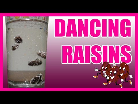 Incredible Dancing Raisins EASY KIDS SCIENCE
