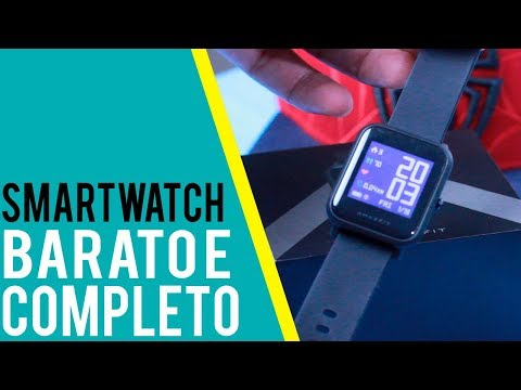 Smartwatch Xiaomi Amazfit Bip - O MELHOR, COMPLETO e BARATO - Review