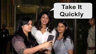Priyanka Chopra Reaction On Fans Taking Selfie