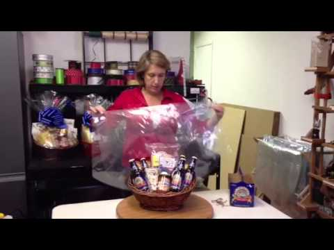 How to make a Firestone Beer Gift Basket