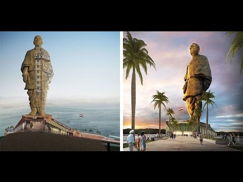 India To Build World's Next Tallest Statue - Statue of Unity