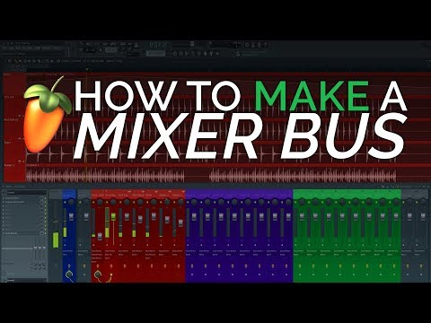 How To Make Groups and Bus Channels In The Mixer - FL Studio Basics