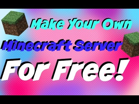 [Tutorial] Make Your Own Minecraft PC AND MCPE Server! (FOR FREE!)