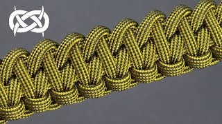 How to weave the Fishtail Eccentric Paracord Bracelet