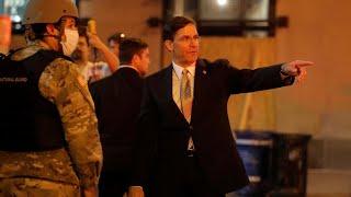 Manifestations aux États-Unis : le Pentagone s'oppose à un déploiement de l'armée