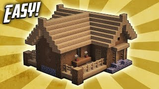 Minecraft How To Build A Small Survival Starter House Tutorial 3