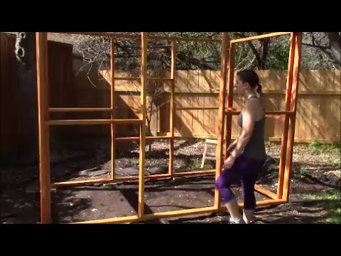 Chicken Coop Build Part 2 Foundation, Staining, and Framing