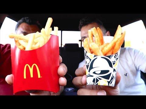 Taco Bell Nacho Fries VS Mcdonalds Fries
