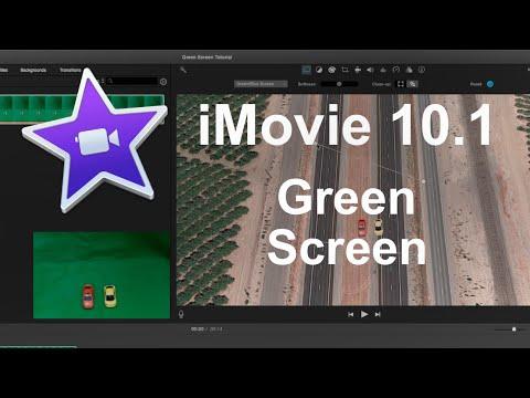iMovie 10.1 - Green Screen Tutorial 2016