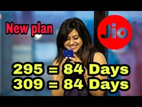 309 rupay Mein 84 days validity  jio ka new plan