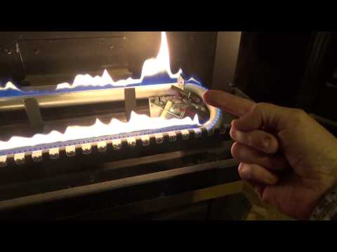 How to mantain and light a propane fireplace heater