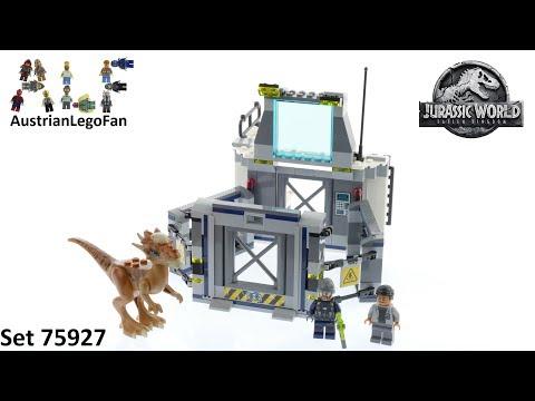 Lego Jurassic World 75927 Stygimoloch Breakout - Lego Speed Build Review
