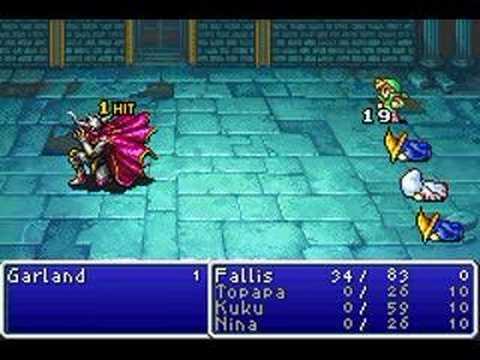 Final Fantasy 1 - Boss #1 - Garland - Single Character