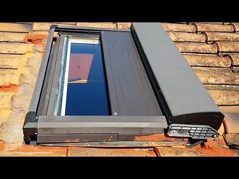 Como sustituir cambiar motor eléctrico  de una persiana de techo.