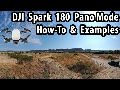 DJI Spark 180 Pano Mode How To & Photo Examples