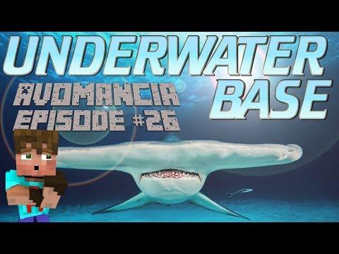 Minecraft: How to make an Underwater Base in Survival Minecraft | Avomancia Survival LetsPlay Ep26