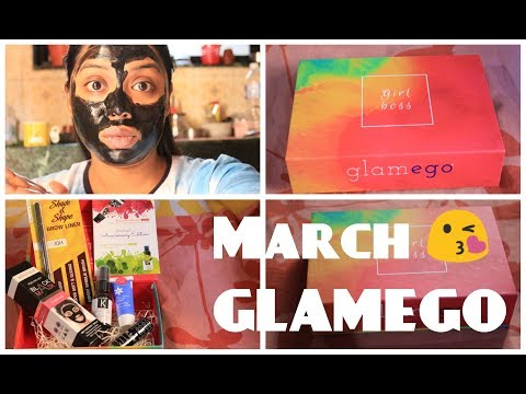 GlamEgo Box  - March 2018 - Birthday Edition - Indiangirl Jia