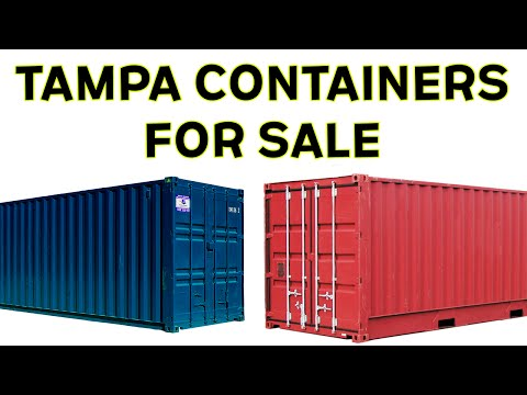 Shipping Containers For Sale Tampa | Watch This Before You Buy!