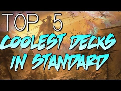 MTG: Top 5 Coolest Decks in Hour of Devastation Standard!
