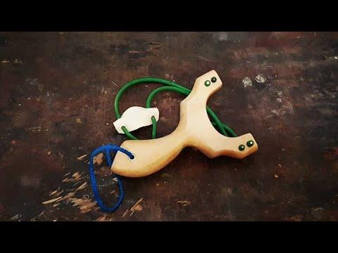 How to make ash wood slingshot-my first slingshot