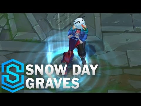Snow Day Graves Skin Spotlight - Pre-Release - League of Legends
