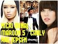 Maroon5 Sugar Ft Nicki Minaj Carly Rae Jepsenmashup