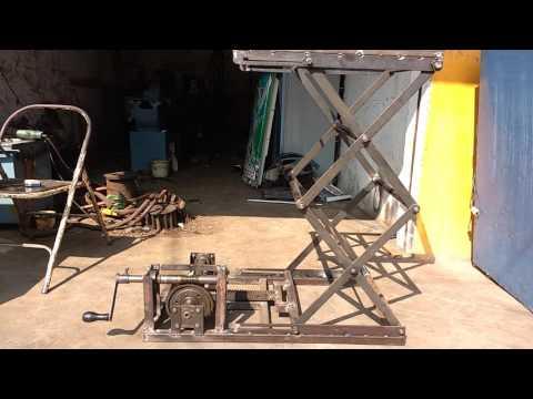 mechanical scissor lift project