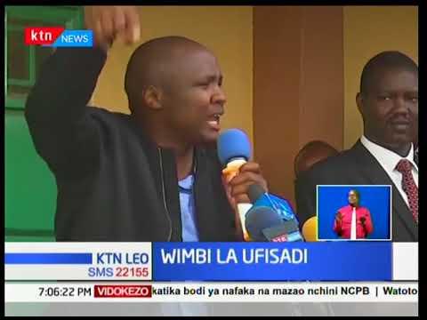 Viongozi wa North Rift wajibizana hadharani huko Eldoret kuhusu sakata ya mahindi