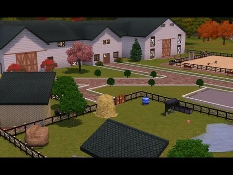 Sims 3 : Horse Stable- Friesian Equestrian Centre