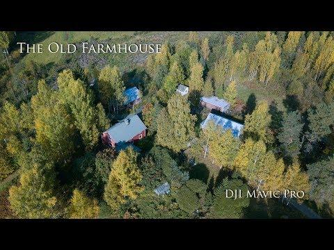The Old Farmhouse - DJI Mavic Pro 4K (Nilsiä, Finland)