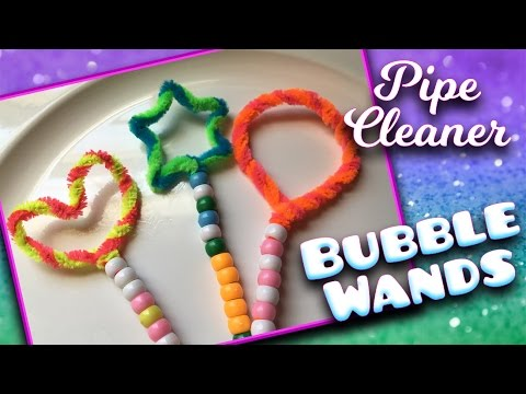 How To Make a BUBBLE WAND