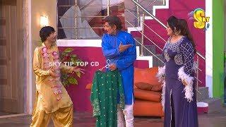 Iftikhar Thakur and Sajan Abbas Stage Drama Wah Tera Joban Comedy Clip 2019