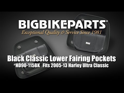 Lower Fairing Pockets for Harley Ultra Classic