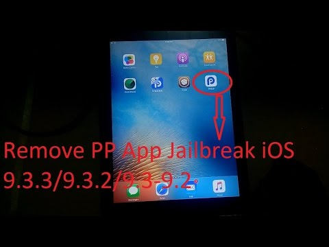 Remove PP app store from your jailbroken iOS 9.3.3/3.2/3.1/3.0-9.2 idevice