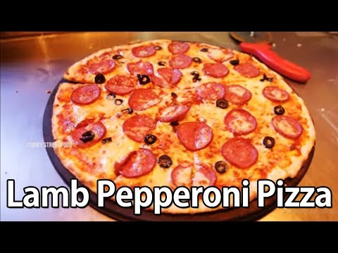 Lamb Pepperoni Pizza | Pepperoni Pizza Special | Yummy Street Food