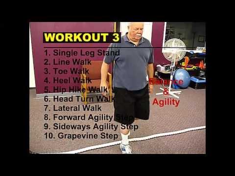 BALANCE and AGILITY EXERCISES Workout 3 (Refresher)