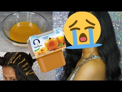 😡 I Put Baby Food in my Hair!