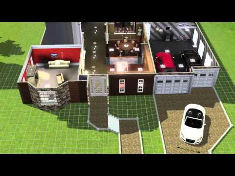 Building a Large Family Home on the sims 3