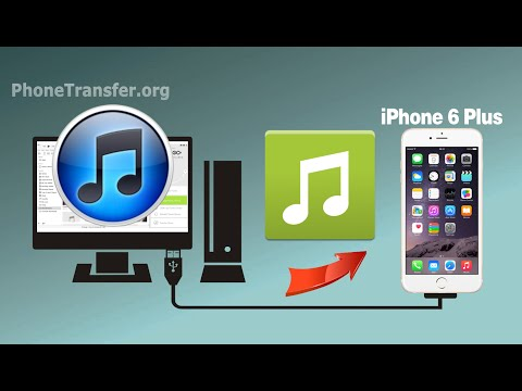 How to Sync Music & Playlist from iTunes to iPhone 6 Plus, iTunes Songs to iPhone 6+