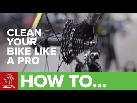 How To Clean Your Bike Like A Pro
