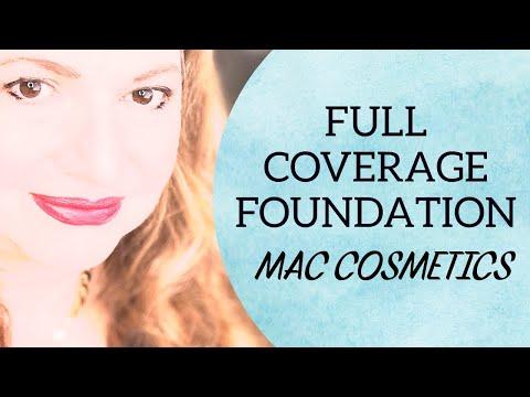 Sheer makeup - MAC Full Coverage Foundation