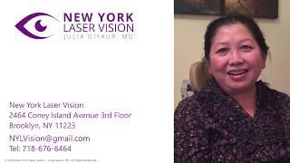 Laser Cataract Surgery Testimonial