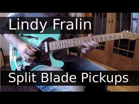 Lindy Fralin Split Blade telecaster Pickups
