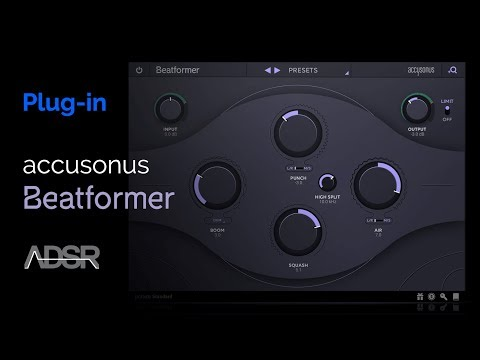 Accusonus Beatformer - Musical Beat Sculpting