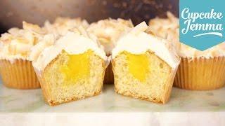 mango filled coconut cupcake recipe cupcake jemma