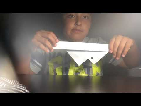 How to make paper glasses