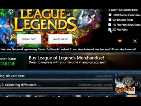 League of Legends   Earn Free RP and IP April 2012 No Hack
