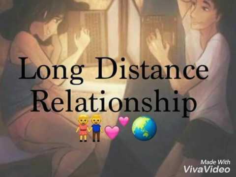 Long Distance Relationship short message.